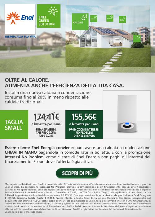 Enel Energia Vende La Caldaia Con Le Rate In Bolletta