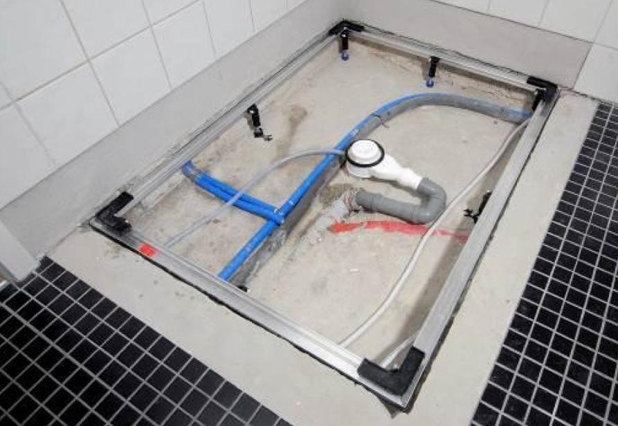 Conoflat piatto doccia filo pavimento - Piatto doccia incassato nel pavimento ...