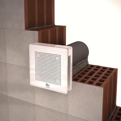sono stati progettati per linstallazione a parete e a soffitto per estrazione diretta o attraverso condotti di lunghezza contenuta
